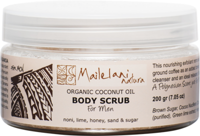 For Men (Polynesian Scent) - Body Scrub -