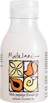 Fresh Papaya & Mango Organic Coconut Massage Oil 300ml / 10.14 fl oz