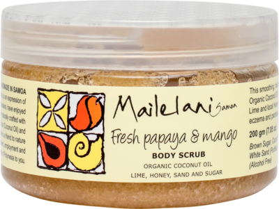 Fresh Papaya & Mango Scent - Body Scrub -