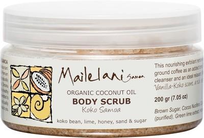 Vanilla & Koko Scent 200gm - Body Scrub -