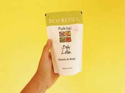 Frangipani and Lau Ti- Eco Refill Pouch 300ml Lotion