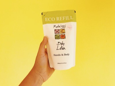 Papaya and Mango- Eco Refill Pouches 300ml Lotion