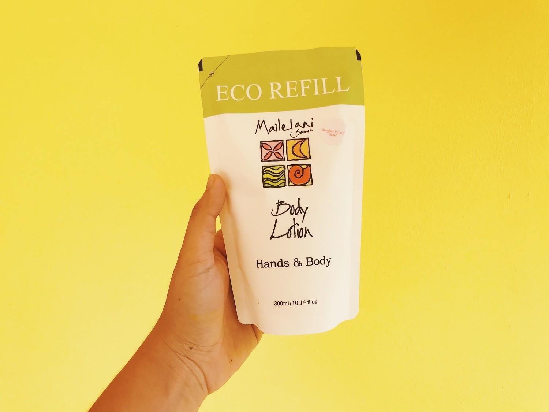 Koko Samoa and Vanilla- Eco Refill Pouch 300ml Lotion