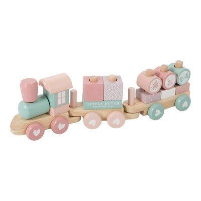 Holzeisenbahn Rosa