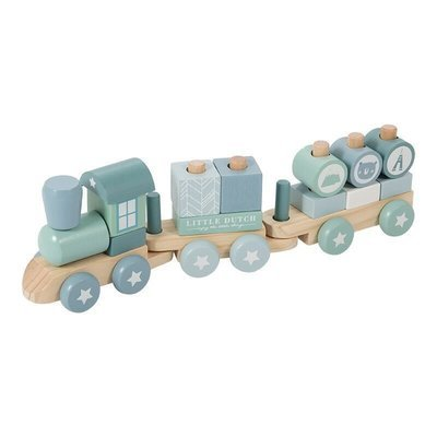 Holzeisenbahn Blau