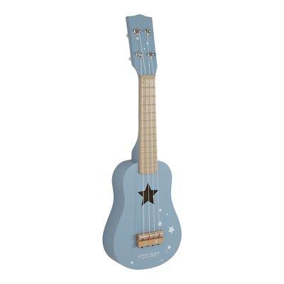 Gitarre Blau