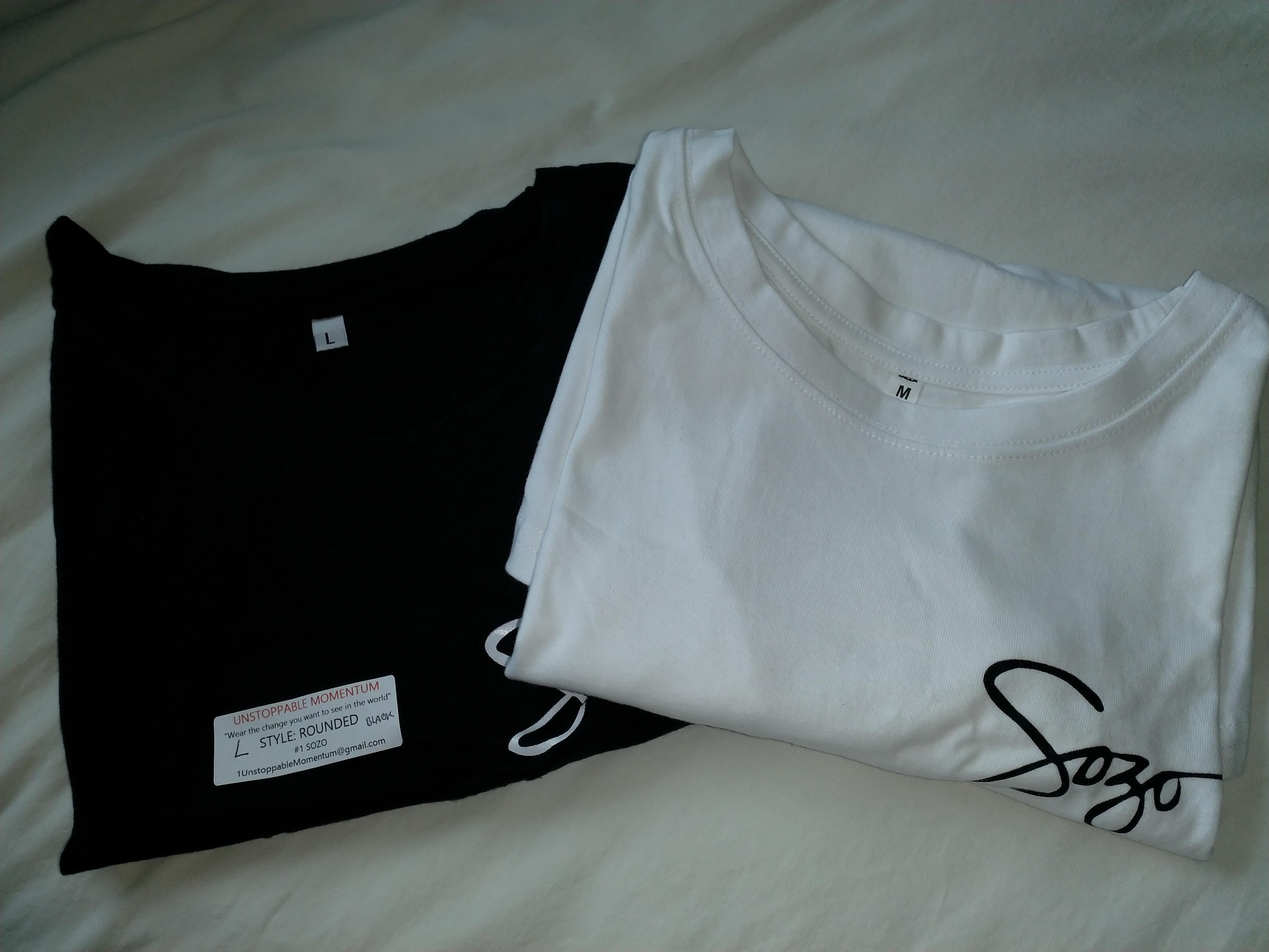 Sozo T shirts