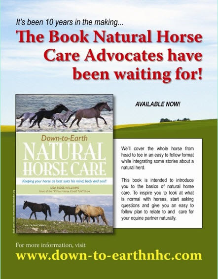 Down-To-Earth Natural Horse Care book-KINDLE
