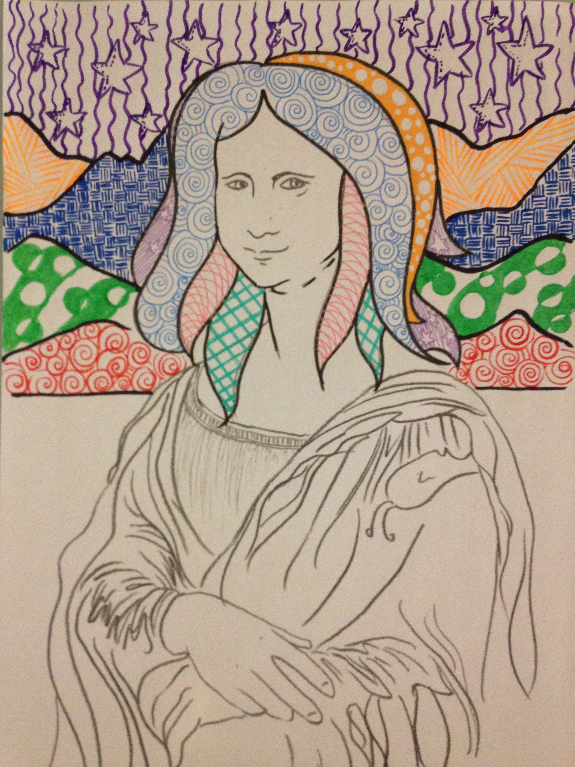 Mona Lisa Free Printable PRINT0001