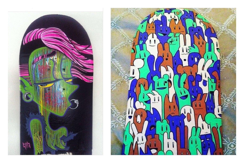 Paint a Skate Board Deck - Fri 28th Sep, 1-3pm SH008