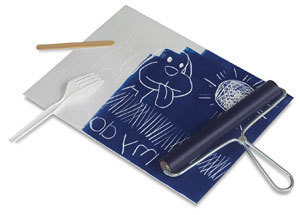 Printmaking - Relief fabric printing onto Library bags! Mon 24th Sep, 9-11am SH001