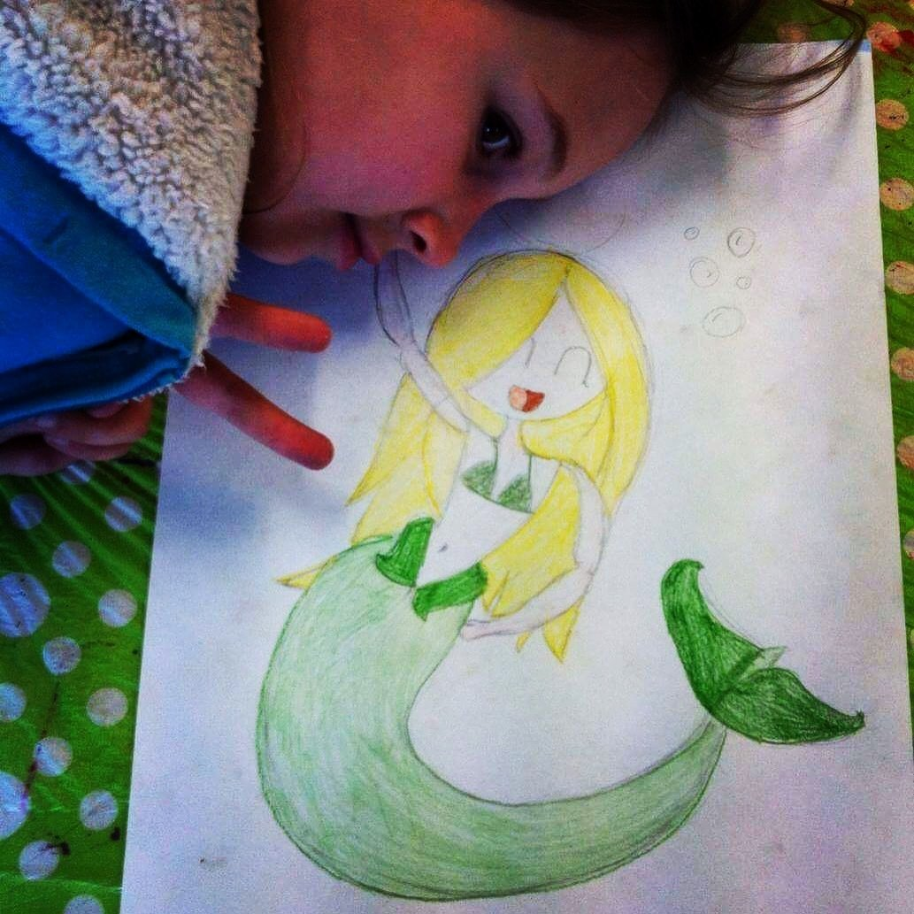 Mermaids and Space Creatures, Thur 4th Oct, 2-4pm SH015