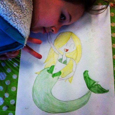 Mermaids and Space Creatures, Wed 9th Jan, 2-4pm (6-12yrs)