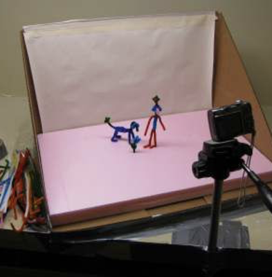 Stop frame animation studio - Thu 10th Jan, 1-3pm (8-14yrs)