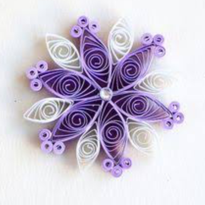 Papercraft Workshop - Quilling, Tues 22nd Jan, 1-4pm (8-14yrs)