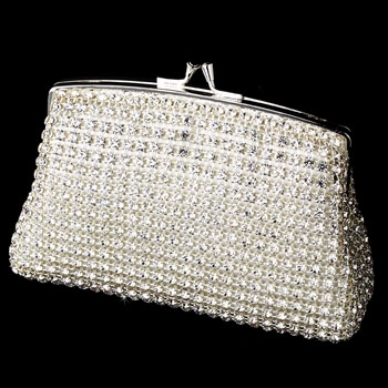CRYSTAL RHINESTONE  EVENING BAG