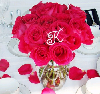 INITIALS FOR YOUR BOUQUET