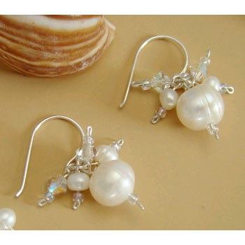 BEACH BRIDE EARRINGS