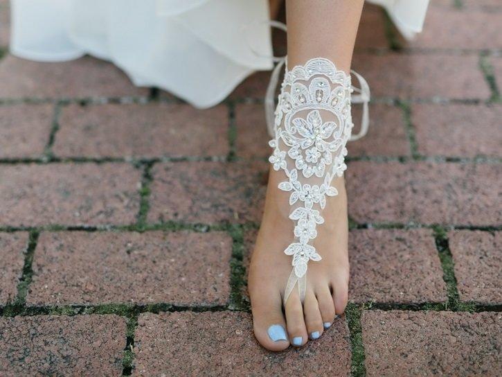 BRIDAL FOOT JEWELRY