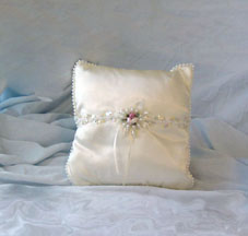 Cream Pillow