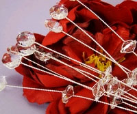 SILVER CRYSTAL JEWELRY PICKS