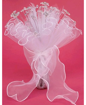 BOUQUET WITH CRYSTALS TIPS
