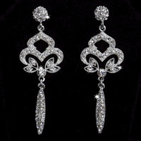 OPULENT CRYSTALS EARRINGS