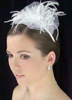 TULLE & FEATHER HEADBAND