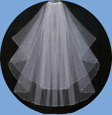 VEIL IN 2 LAYERS