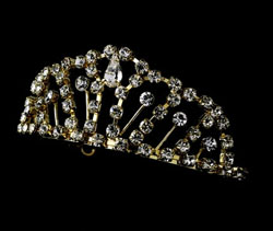 GOLD PLATED TIARA