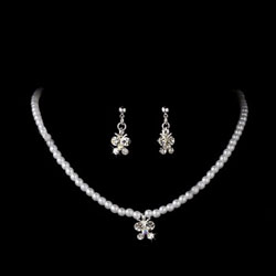 BUTTERFLY PEARL JEWELRY SET