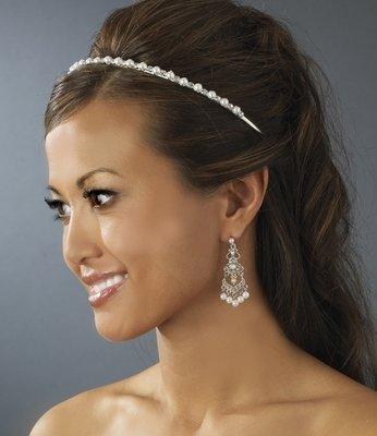 Simple Pearl Bridal Headband