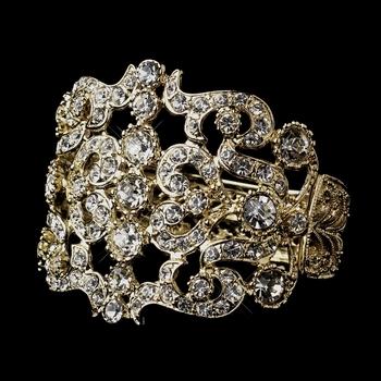 Gold Clear Bracelet