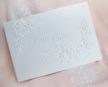 English Ivory Guest Books