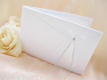 Sheer Ribbon Guest Book