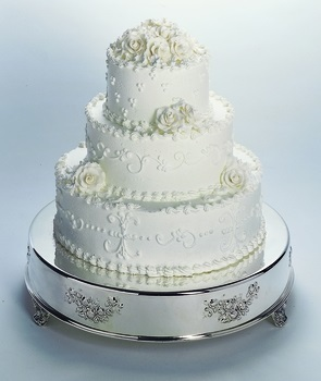 "18"" Round Wedding Cake"
