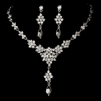 Vintage Drop Swarovski Crystal Jewelry