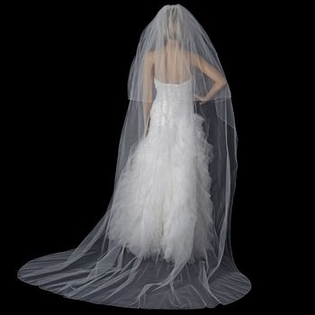 Double Layer Cathedral Length Veil