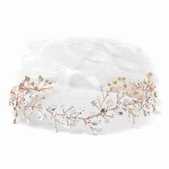 Rose Accent Headband