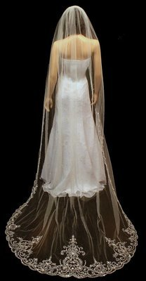 Extravagant Cathedral Veil