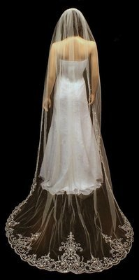 Exquisite Cathedral Veil