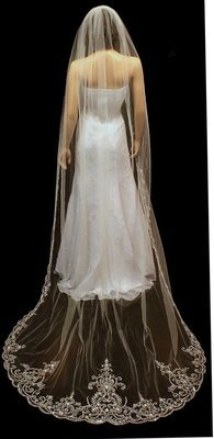 Regal Extra Wide Cathedral Veil