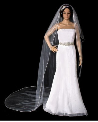 Two piece Cathedral Veil