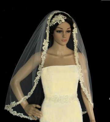 Extravagant French Lace Veil
