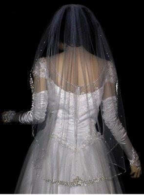 Sparkling Delicate Veil