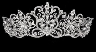 Elegant Jeweled Tiara