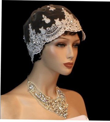 Exquisite Lace Cap