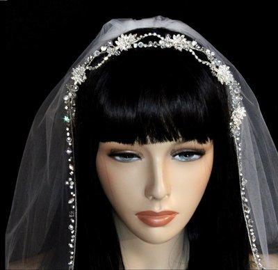 Gorgeous Rhinestone Headband