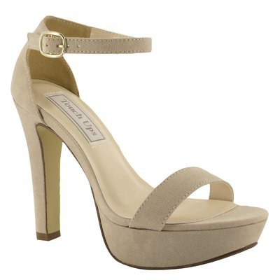 Mary Beige Imitation Suede