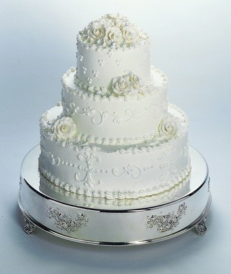 "14 "" Round Wedding Cake Tableau Stand"